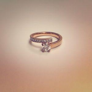 Swarovski Rose Gold Ring
